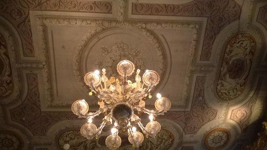 Hotel Ai Due Principi: le plafond de la chambre