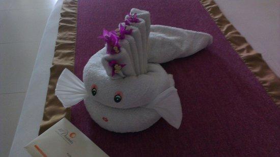 El Dorado Sensimar Riviera Maya: another towel suprise