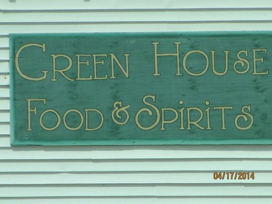 Greenhouse Restaurant: Greenhouse sign