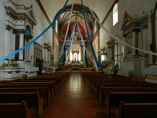Ex Convento Dominico de la Natividad: Inside the church