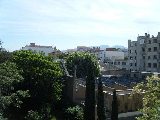 Citadines Prado Chanot Marseille : View from the balcony