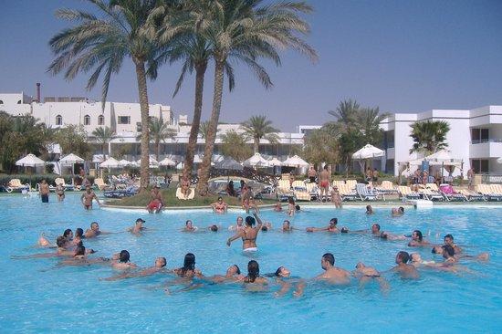 Queen Sharm Resort: Acquagym