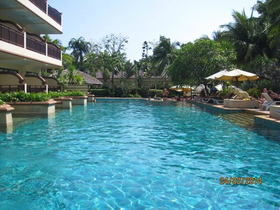 Krabi La Playa Resort: Pool