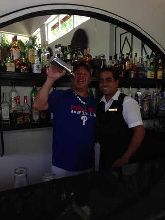 Dreams Punta Cana Resort & Spa : Lenny in the Preferred Club