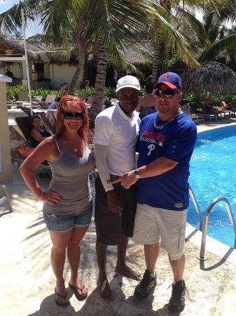 Dreams Punta Cana Resort & Spa : La Volenta of the Entertainment Staff