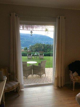Villa Kilauea B&B : Suite private terrace and view