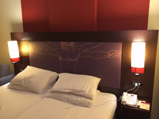 Leonardo Basel Hotel: Double bed room
