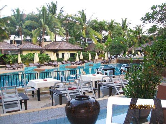 Krabi La Playa Resort: View from Dining room
