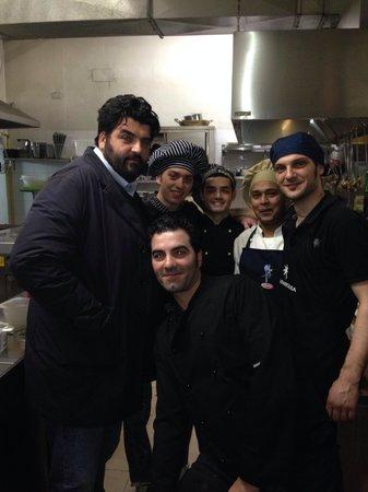 Toronero Ristorante: Lo chef Cannavacciulo al Toronero