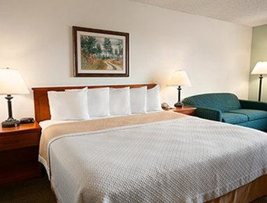 Days Inn Coeur d'Alene: One King Bed Room