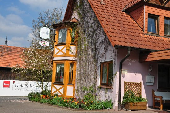 Esselbach, Deutschland: Front of the house in spring
