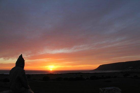 L'Ane Vert : Terrace sunset