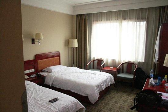 Zhiyuan Hotel: in room