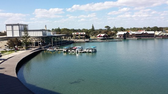 The Sebel Mandurah: View from an estuary 4th floor room