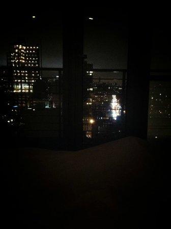 Hotel on Rivington: allongé sur le lit...
