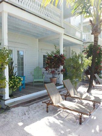 Parrot Key Hotel and Resort: Вход в номер на первом этаже