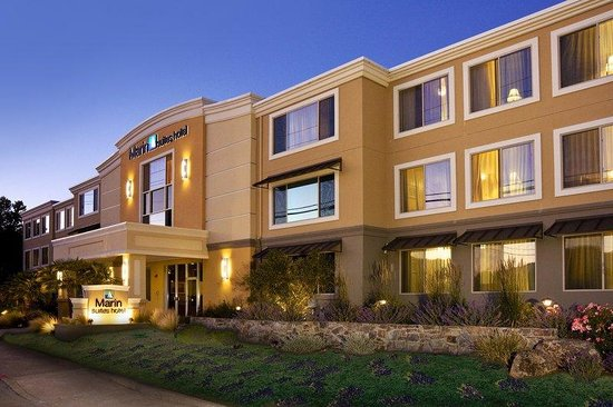 The all new Marin Suites Hotel