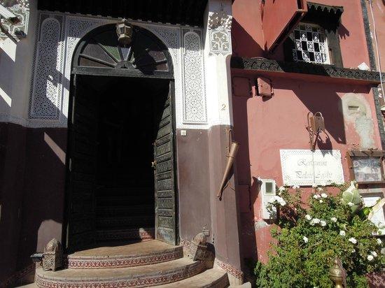 Restaurant Palais Arabe : L'entrée du restaurant