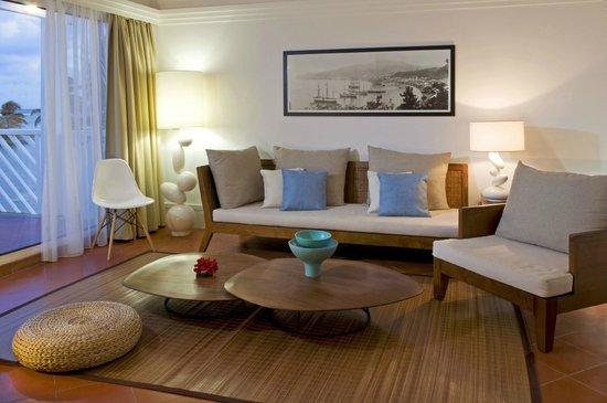 La Cocoteraie: le salon de nos suites