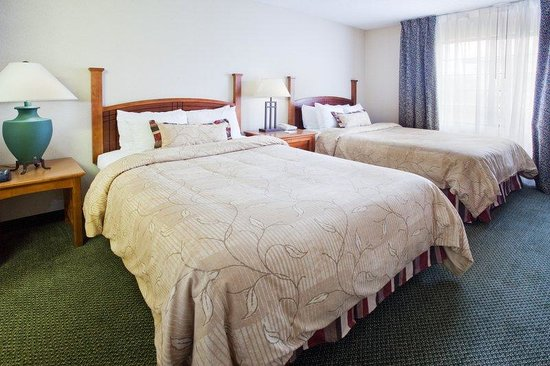 Staybridge Suites Grand Rapids/Kentwood : One Bedroom Extended Stay Suite with Two Double Beds