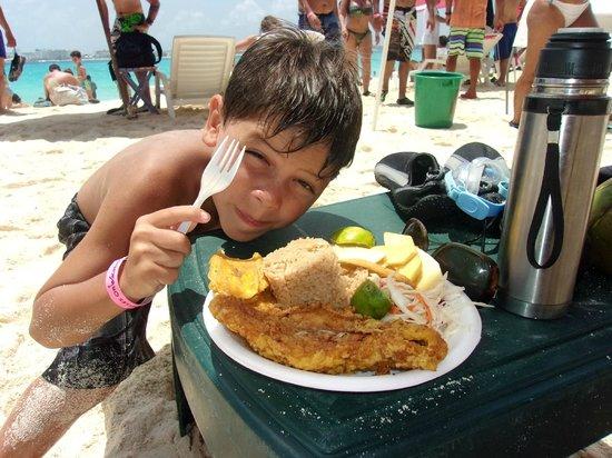 Johnny Cay : una rica comida