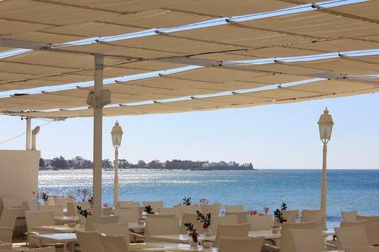 The Sindbad: Restaurante en la playa