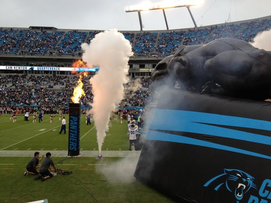 The Bank of America Stadium: Player Entrances