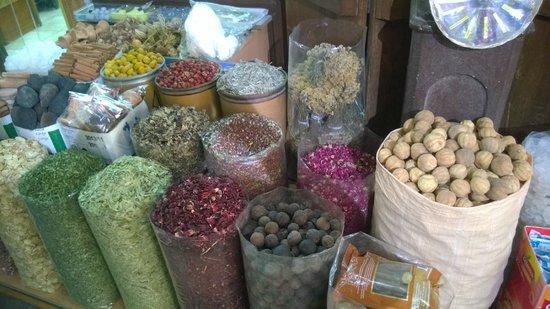 Dubai Spice Souk: foto souk spezie