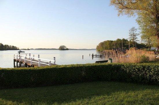 Strauers Hotel am See: Spargel zum Abendessen