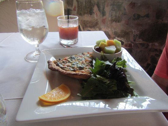 Old Stone Farmhouse: Lobster Quiche