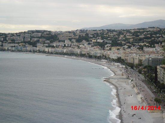 Blue Beach : Bird View Of The Beach