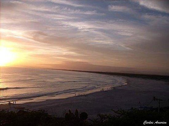 Praia Grande Beach: Pôr-do-Sol na Praia Grande