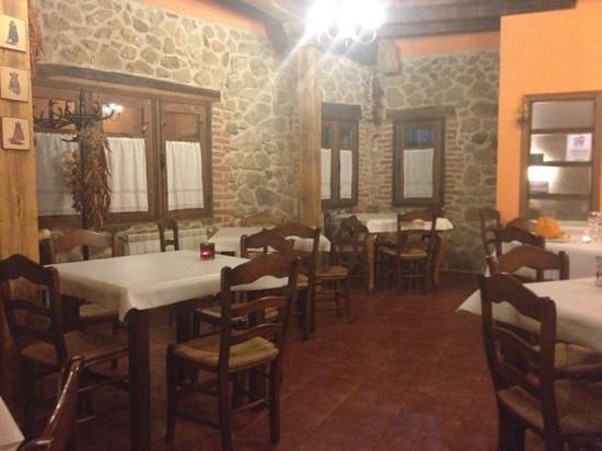 Restaurante-Hotel Rural La Garza Real: restaurante Garza Real