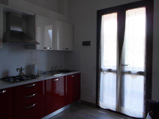 San Gregorio: Cucina appartamento