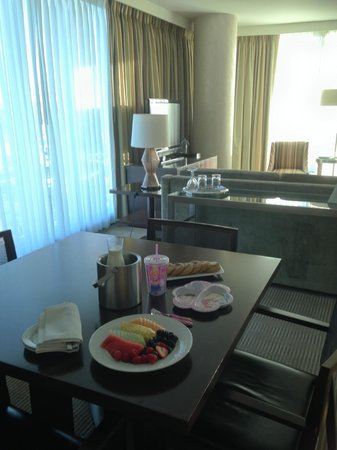 InterContinental San Francisco: Welcome food/fruits