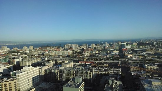 InterContinental San Francisco: wonderful view from the room