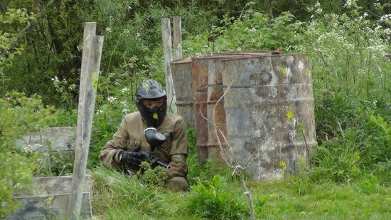 Delta Force Paintball Upminster: Storming 'The Castle'