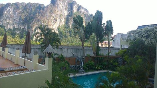 Sabai Mansion: Ausblick