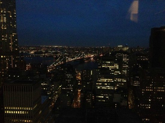 Millennium Hilton New York Downtown: Room View, Brooklyn Bridge 50th floor