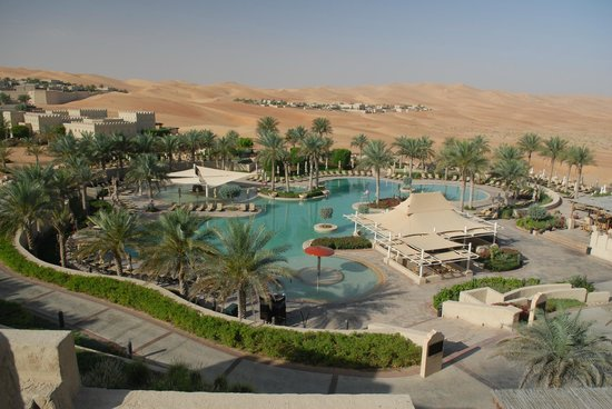Qasr Al Sarab Desert Resort by Anantara: Pool