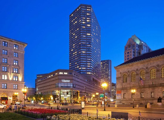 The Westin Copley Place, Boston : Westin Copley as seen from Copley Square