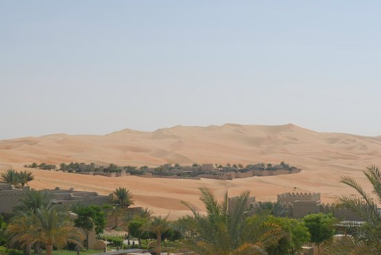 Qasr Al Sarab Desert Resort by Anantara: Zimmeraussicht