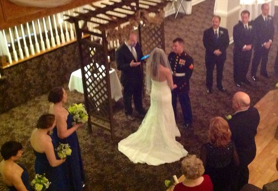 Village Inn Event Center: Wedding Ceremony & Reception in the Crystal Ballroom