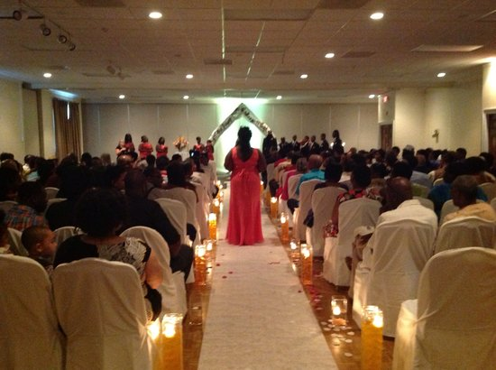 Wedding Ceremony & Reception In The Grand Ballroom