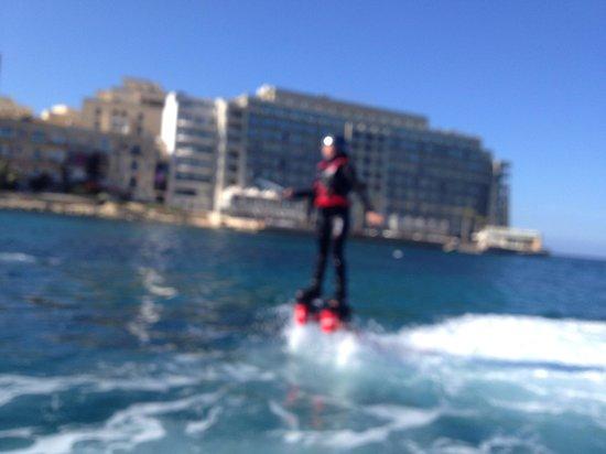 Flyboard Malta: fly boarding