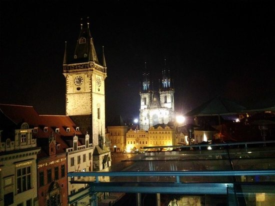 Outside picture of terasa u prince prague tripadvisor for Terrace u prince prague