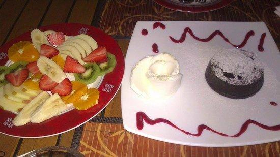 Villa Okan Restaurant: Dessert