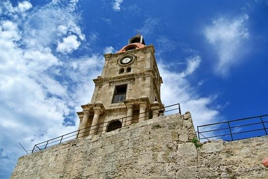 A Torre do Relógio. - Picture of Roloi Clock Tower, Rhodes ...