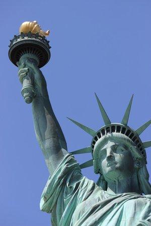 Statue de la liberté : Statua della Liberta - da vicino