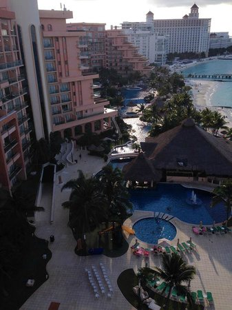 Grand Fiesta Americana Coral Beach Cancun: balcony